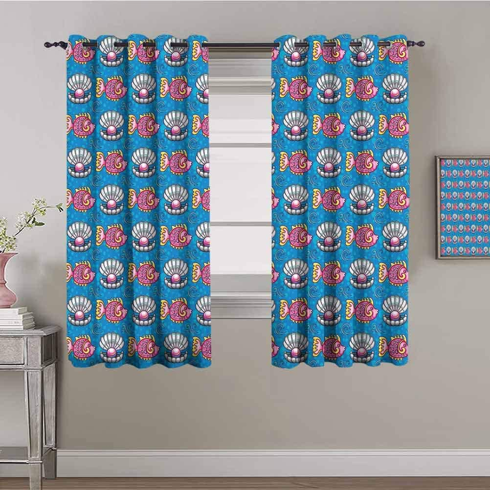 Pearls Kids Curtain Bubbles Recommended Manufacturer direct delivery Backdrop Swimming Scallops and with