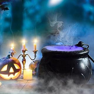 Halloween Heksenketel Fog Maker met 12 LED-verlichting Halloween Mist Maker, Halloween Party Mist Maker, Halloween Party M...