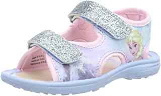Eiskönigin 女孩女孩儿童经典凉鞋和多尔鞋带凉鞋