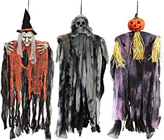 Best hanging halloween decorations outside Reviews