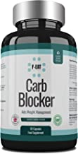 Carb and Sugar Blocker Capsules for Safe and Natural Weight Loss and Suppression of Hunger and Appetite – Ideal for Keto Diet Estimated Price : £ 8,99