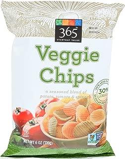 365 Everyday Value, Veggie Chips, 6 oz