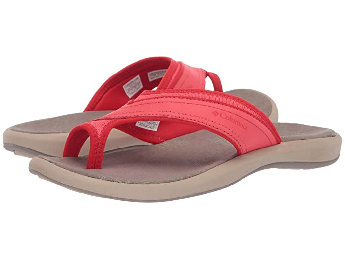 Columbia  Keatm II (Red Coral/Cherrybomb) Womens Sling Back Shoes