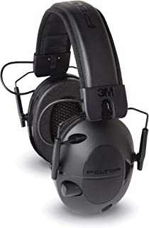 Peltor Sport Tactical 100 Electronic Hearing Protector, Ear Protection, NRR 22 dB, Ideal for Shooting and Hunting