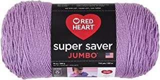 Coats & Clark Orchid Red Heart Super Saver Jumbo