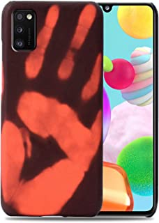 Hicaseer Case for Galaxy A41,Thermal Sensor Case&Ultra Thin Anti-Scratch Stylish Color Changing Protective Cover for Samsu...