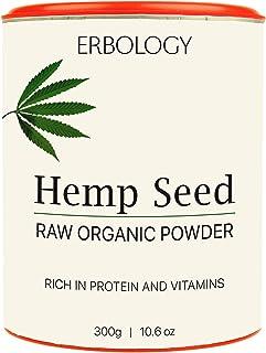 Organic Hemp Protein Powder 10.6 oz - Rich in Vitamin D and Minerals - Raw - Gluten-Free