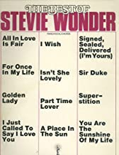 The Best of Stevie Wonder (piano/vocal/chords)