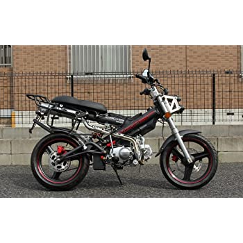 SaCHSBIKES マダス125 MadAss125 ザックスバイク 125ccバイク 二輪 黒