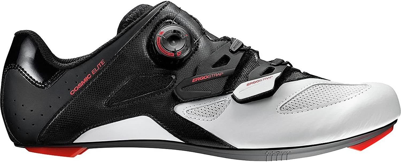Mavic Cosmic Elite Cycling shoes - Mens Black White Firey Red, US 6.5 UK 6.0