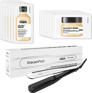 L'Oréal Professionnel Paris SteamPod 3.0 piastra per capelli professionale a vapore, 2 in 1, per styling liscio e onde mor...