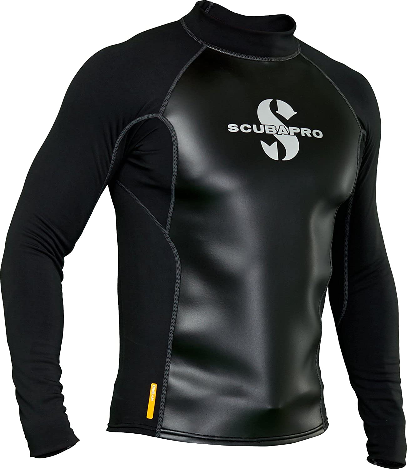 (Small)  ScubaPro Men's Hybrid Thermal Long Sleeve Top