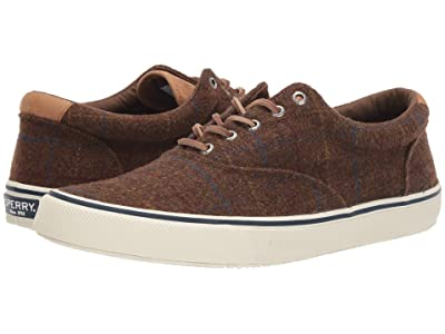 Sperry Striper II CVO Wool Plaid (Brown Plaid) Men