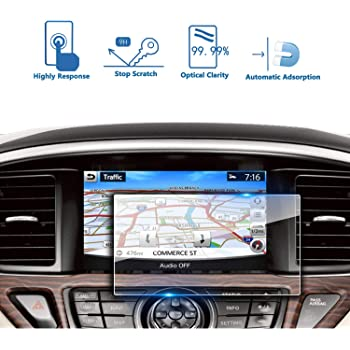 9H Tempered Glass Infotainment Center Touch Screen Protector Anti Scratch High Clarity LiFan US01CMMAZD07 LFOTPP 2017-2018 FIAT 124 Spider MZD Connect 7 Inch Car Navigation Screen Protector,