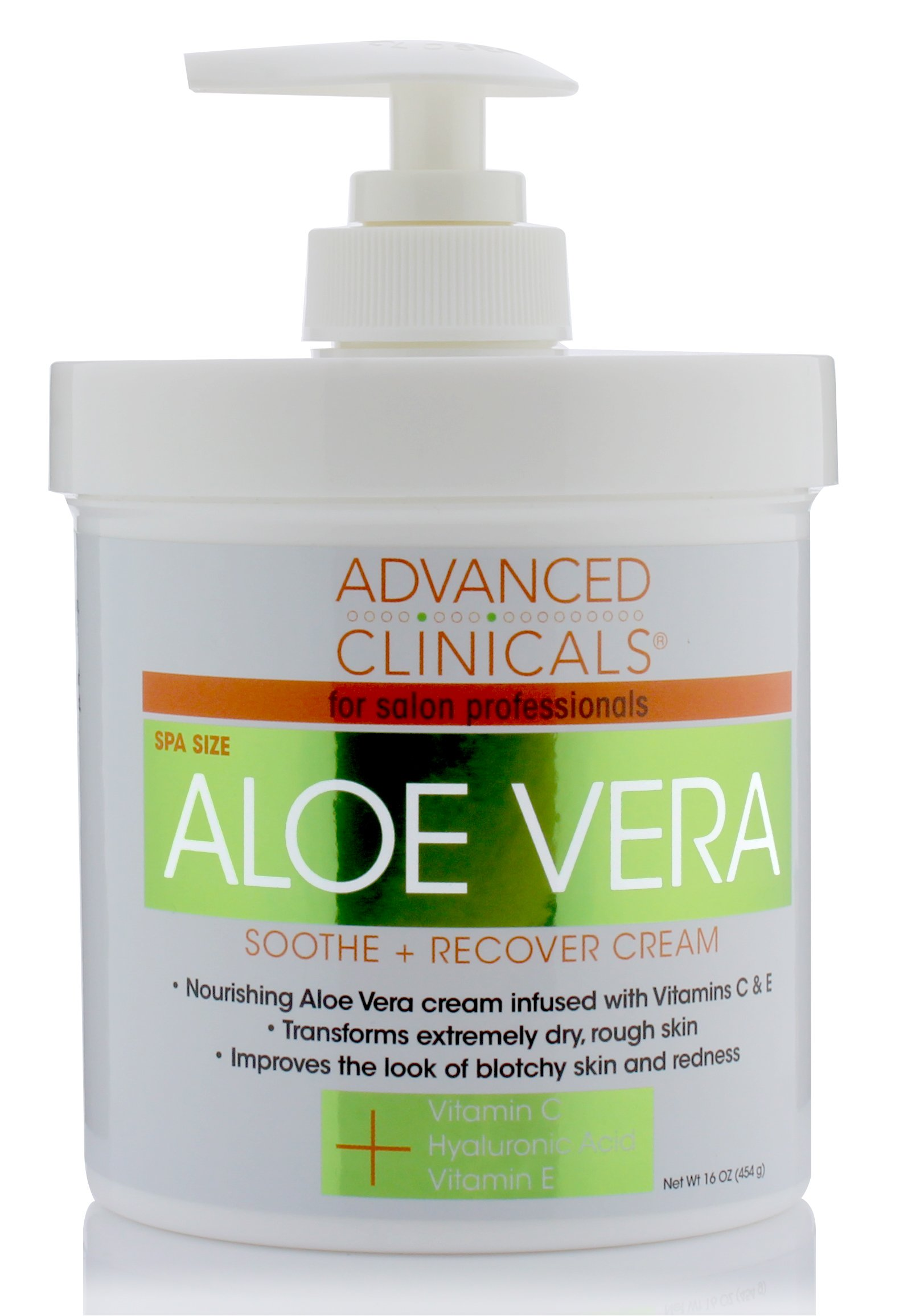 Advanced Clinicals Vitamin Hyaluronic redness
