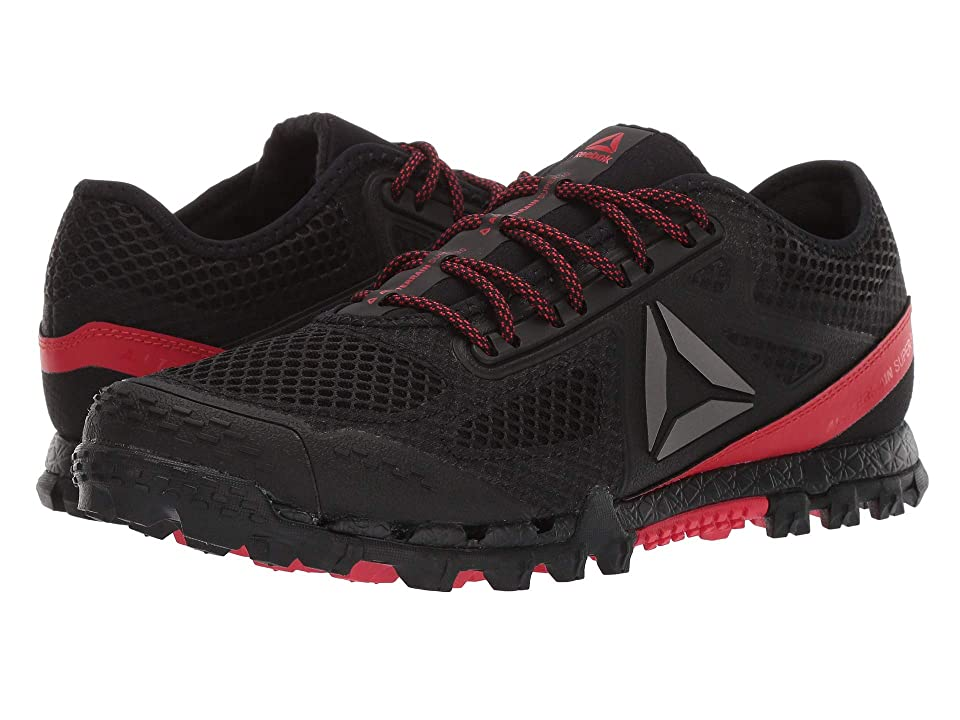 94d64787249 Reebok AT Super 3.0 Slealth (Black Primal Red Pewter) Men s Shoes
