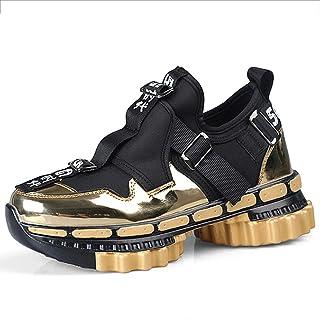 WYEZ Scarpe da Corsa Uomo Donna Scarpe da Ginnastica Sportive Walking Athletic Fitness Outdoor Sneakers Comode Traspirante...