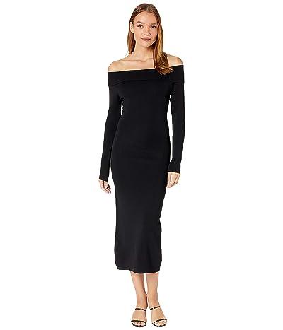 Bardot Off Shoulder Knit Dress