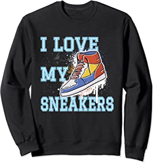 Sneaker J'aime ma basket Sneakers Chaussure de sport Sweatshirt
