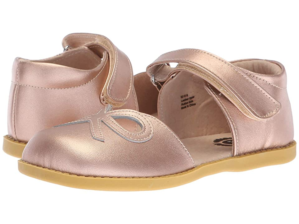 Livie & Luca Bow (Little Kid) (Rose Gold Metallic) Girl