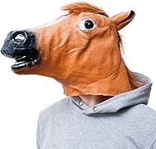 Maschera Testa di Cavallo Nuova di Alta qualit/à Javpoo Latex Prop Style Toys Party Halloween