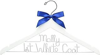 First White Coat Hanger, Pharmacist Gift, New Doctor Gift, PhD Gift, White Coat Ceremony, Medical School Graduation, Custo...