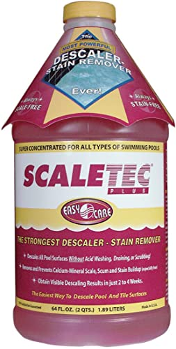 2021 EasyCare 20064 Scaletec Plus outlet sale Descaler sale and Stain Remover, 64 oz. Bottle outlet online sale