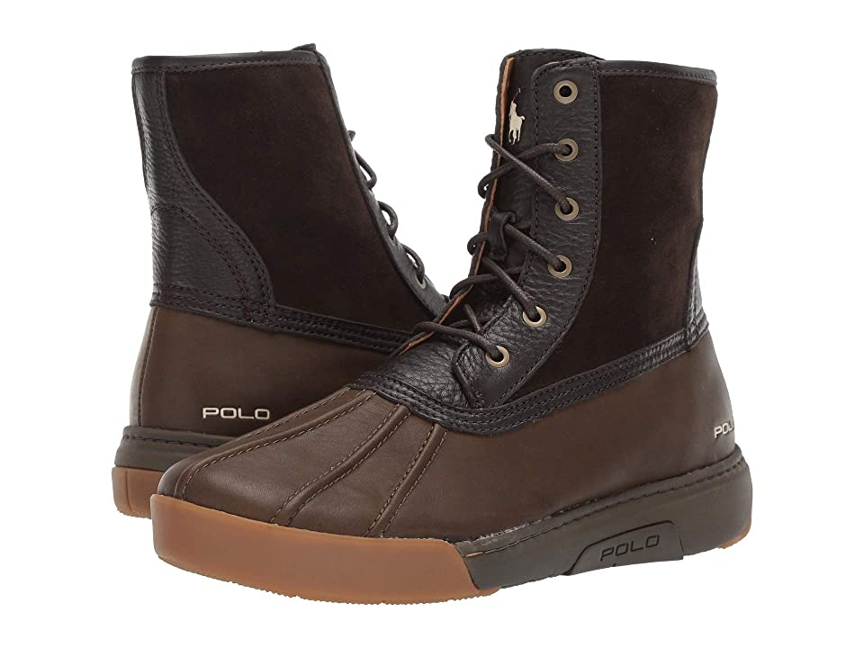 Polo Ralph Lauren Declan (Dark Brown/Olive) Men's Shoes