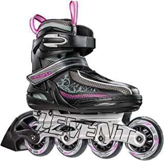 5th Element Lynx LX Womens Recreational Inline Skates, Black and Pink