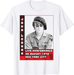 John Lennon - Live Performance 1972 T-Shirt