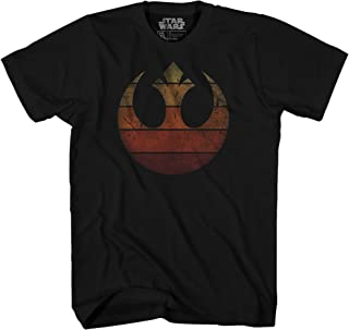 Rebel Alliance Rebellion Last Jedi Luke Rey Leia Chewbacca R2D2 Adult Tee Graphic T-Shirt for Men Tshirt Apparel Clothing