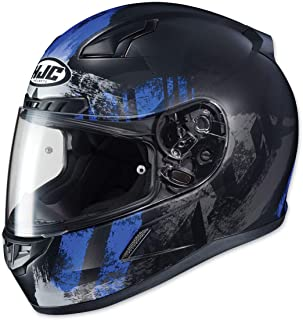 HJC CL-17 Helmet - Arica (Medium) (Black/Blue)