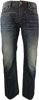 Diesel Mens Straight Cut Jeans Larkee 0857H Dark Blue