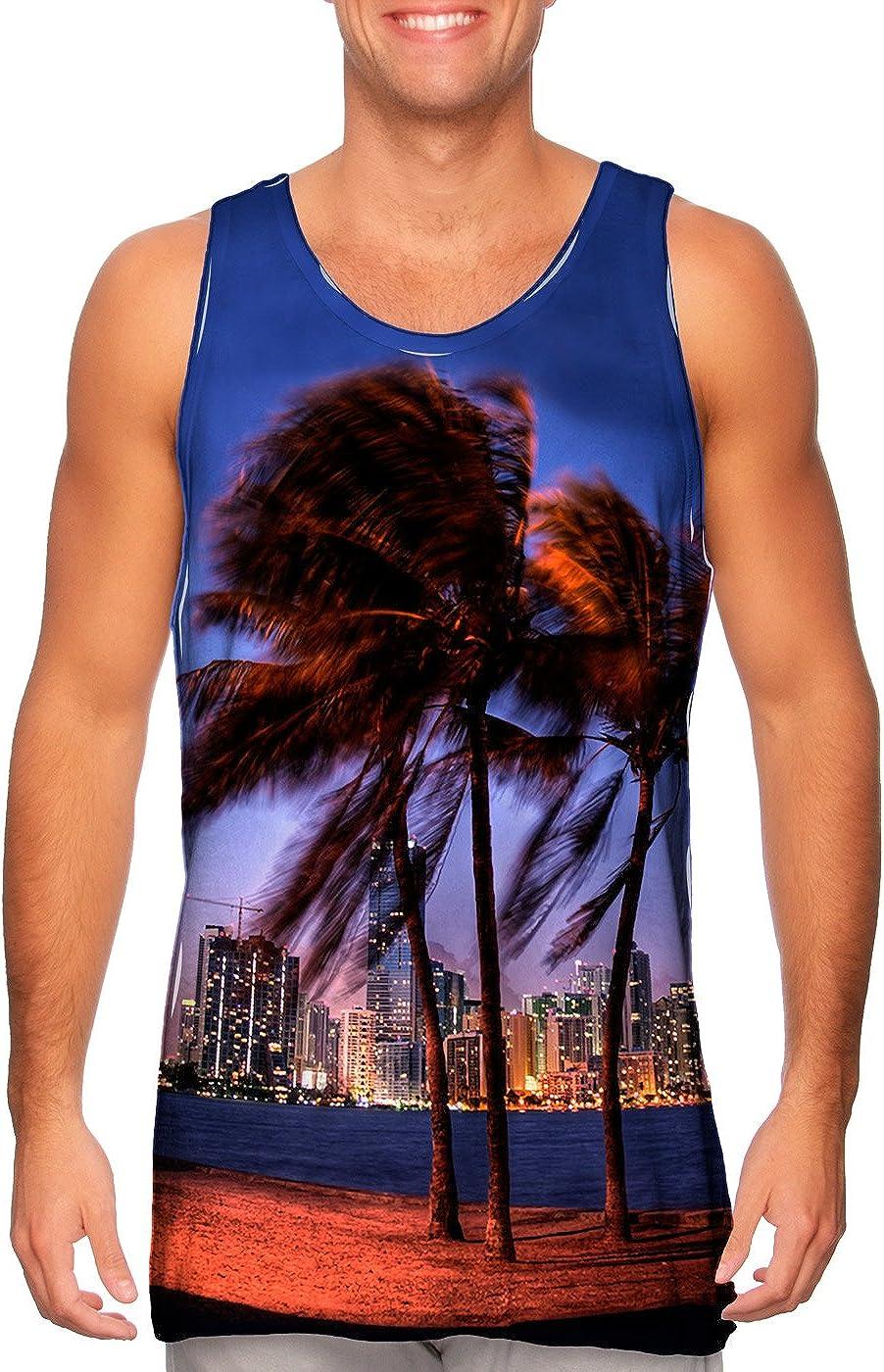 Yizzam- Miami Skyline Max 78% Spasm price OFF -Tshirt- Top Tank Mens