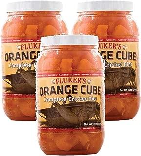 Fluker's 12 oz Orange Cube Complete Cricket Diet (Pack of 3)