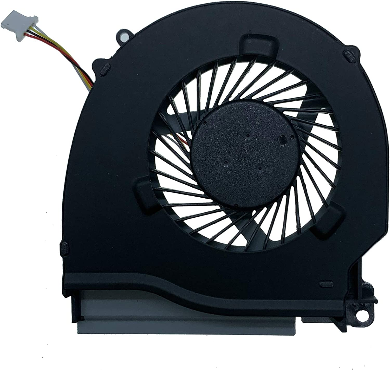 DREZUR GPU Cooling Fan for Del Inspron 15 7557 7559 5577 5576 15P-1548 Series Laptop Cooler 04X5CY P57F (GPU Fan)