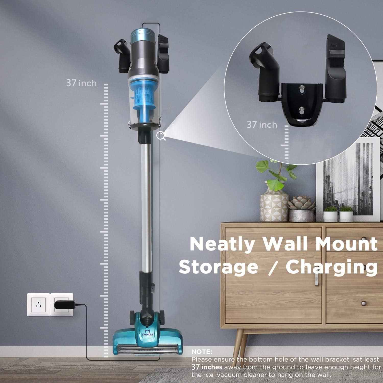 Vaccum Cleaner More Power Forte puissance daspiration Fixation murale JOYMORE Aspirateur sans fil 3 en 1