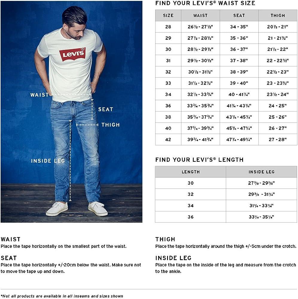 Levi's Mens 569 Loose Straight Denim Short Denim Shorts El Short - Stretch