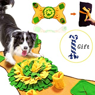 GABraden Snuffle Mat for Small Large Dogs Nosework Interactive Feeding Mat Easy to Fill and Machine Washable Training Mats Pet Activity Toy, Great for Release Pressure