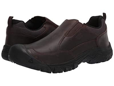 KEEN Targhee III Slip-On (Dark Earth/Mulch) Men