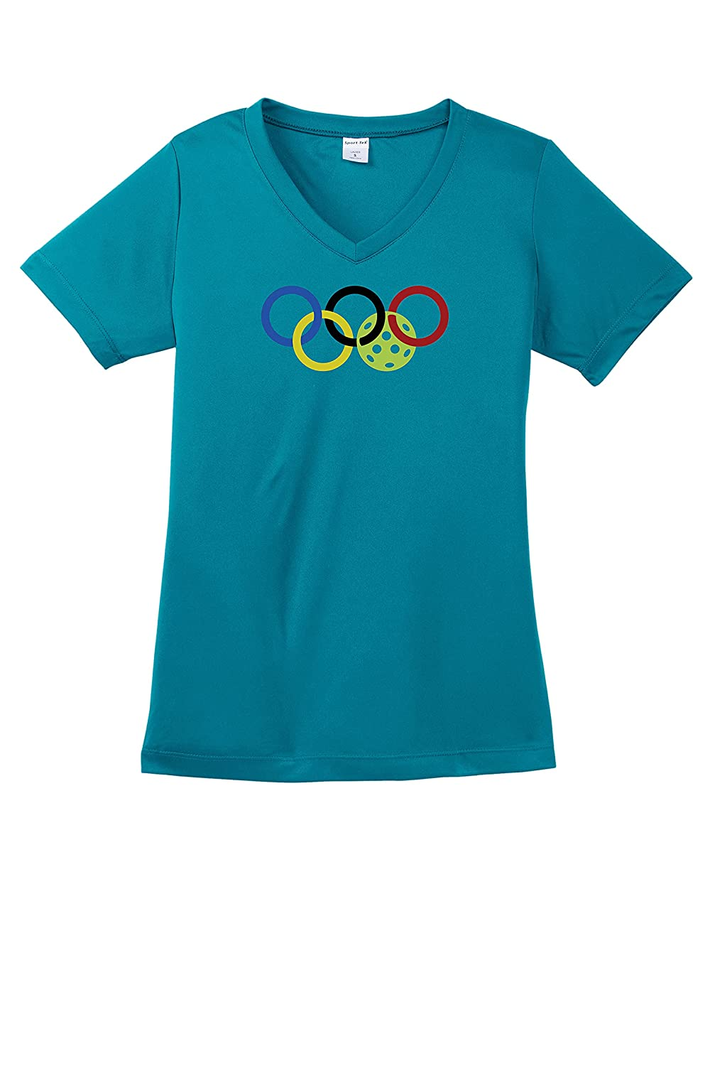 Arlington Mall Ladies Olympic Pickleball T-Shirt Performance Sale special price