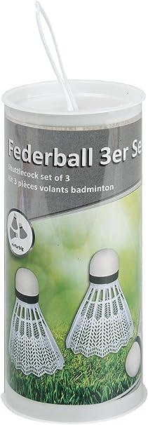 Idena Federball Set Easy 2 Schläger 1 Ball Badminton