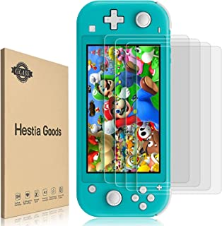 [4 Pack] Screen Protector Tempered Glass for Nintendo Switch lite - Hestia Goods Transparent HD Clear Anti-Scratch Screen ...