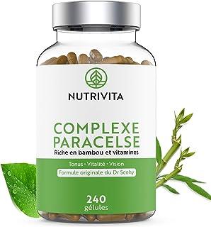 Complejo Paracelse - 240 cápsulas | Fórmula Multivitamínica Completa | Rico en Bambú. Vitaminas B y Vitamina A | Energía. Vitalidad. Salud