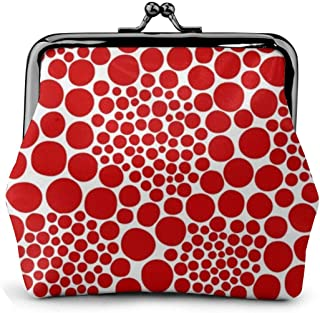 Yayoi Kusama Women'S Wallet Buckle Coin Purses Pouch Kiss-lock Change Travel Makeup Wallets