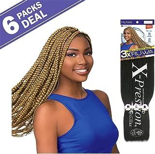 MULTI PACK DEALS! Sensationnel Synthetic Hair Braids XPRESSION 3X Ruwa Pre Layered Braid 24