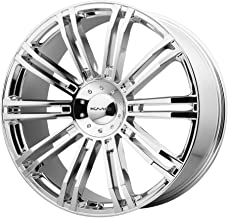KMC Wheels KM677 D2 Triple Chrome Plated Wheel (20x8.5