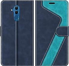 MOBESV Custodia Huawei Mate 20 Lite, Cover a Libro Huawei Mate20 Lite, Custodia in Pelle Huawei Mate 20 Lite Magnetica Cover per Huawei Mate 20 Lite, Elegante Blu