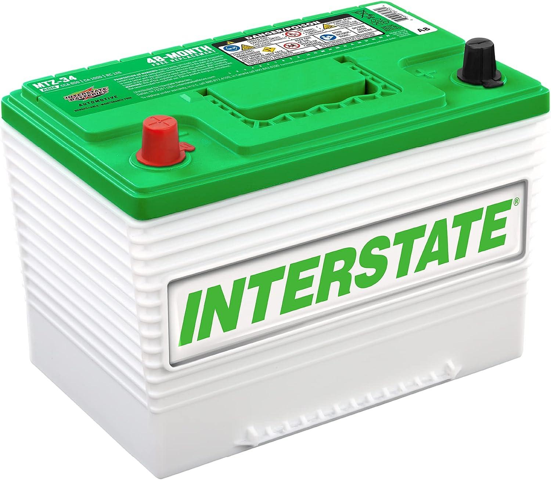 "Interstate Batteries Automotive Battery 12V 63Ah 10.82 x 6.76 x 7.84"""
