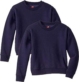 Hanes Girls' Fleece Sweatshirt (2-Pack)